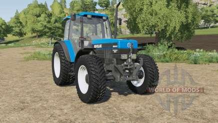 New Holland 8340 wheels selection para Farming Simulator 2017