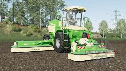 Krone BiG M 450 added Michelin and Mitas tires para Farming Simulator 2017