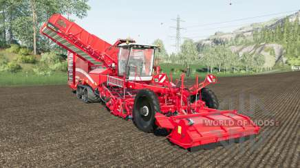 Grimme Varitron 470 working speed 20 km-h para Farming Simulator 2017