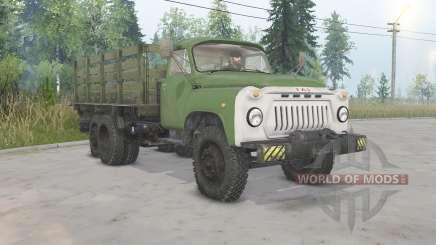 GAZ-53.O-C-NIIAT-05 para Spin Tires