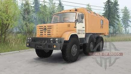 ZIL-4972 soft-laranja para Spin Tires