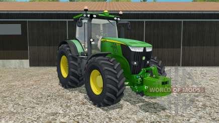 John Deere 7270R with weight para Farming Simulator 2015