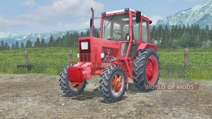 MTZ-82 Bielorrússia animado pedais para Farming Simulator 2013