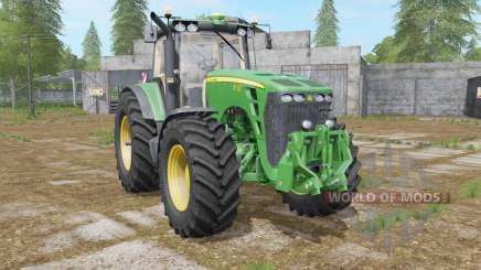 A John Deere 8130〡8230〡8330〡8430〡8530 para Farming Simulator 2017