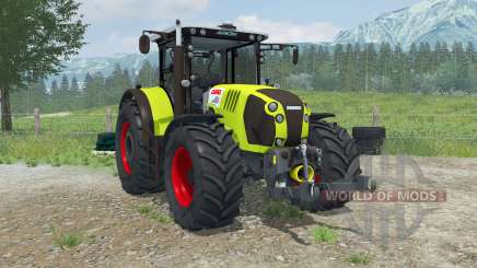Claas Arion 620 animado interioᶉ para Farming Simulator 2013