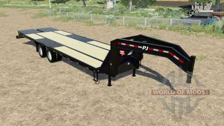 PJ Trailers L3 24ft para Farming Simulator 2017
