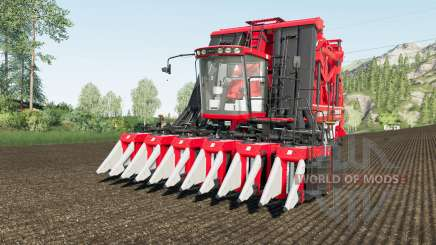 Case IH Module Express 635 working speed 20 km-h para Farming Simulator 2017