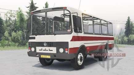 PAZ-3205 v1.2 branco-cor vermelha para Spin Tires