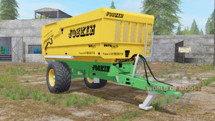 Joskin Trans-Cap 5000-14 golden dream para Farming Simulator 2017
