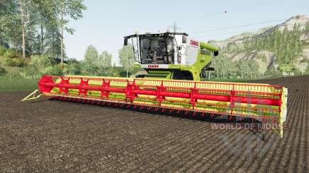 Claas Lexion 780 rio granᶁᶒ para Farming Simulator 2017