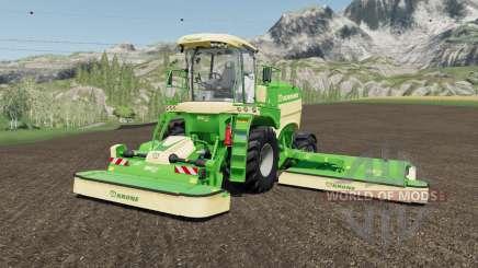Krone BiG M 450 more horsepower para Farming Simulator 2017