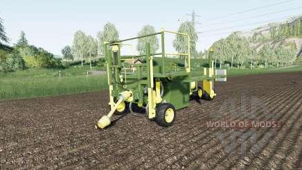 Damcon PL-75 faster planting speed para Farming Simulator 2017