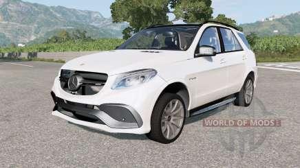 Mercedes-AMG GLE 63 S (W166) 2015 para BeamNG Drive