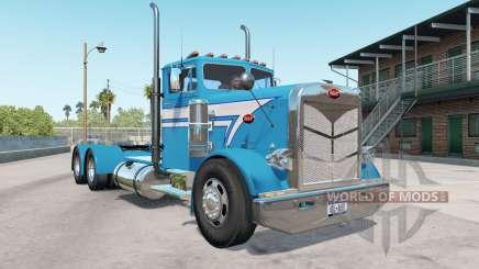 Peterbilt 351 bondi blue para American Truck Simulator