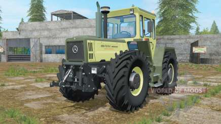 Mercedes-Benz Trac 1800 Intercooler artichoke para Farming Simulator 2017