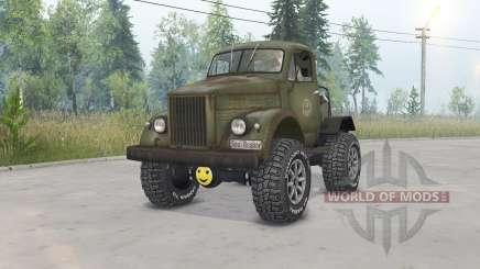 GAZ-63 Gassaver para Spin Tires
