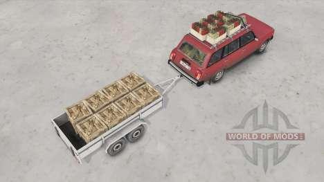 VAZ-2104 Lada para Spin Tires