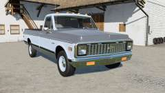 Chevrolet C10 Cheyenne Fleetside 1971 para Farming Simulator 2017