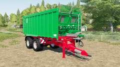 Kroger Agroliner TAW 20 tandem chassis para Farming Simulator 2017