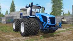 New Holland T9 multicolor with drilling tires para Farming Simulator 2017