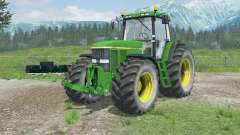 John Deere 7810 open doors and windows para Farming Simulator 2013