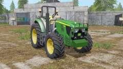 John Deere 5085M & H240 para Farming Simulator 2017