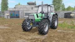 Deutz-Fahr AgroStar 6.61 with more speed para Farming Simulator 2017