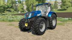 New Holland T7-series Heavy Duty Blue Power para Farming Simulator 2017