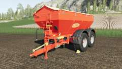 Bredal K165 crazy spreader para Farming Simulator 2017