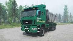 MAZ-6514H9 cor verde para MudRunner