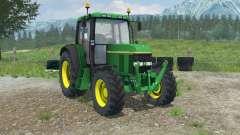 John Deere 6100 with weight para Farming Simulator 2013