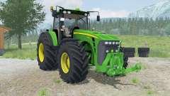 John Deere 8530 dynamic animations of smoke para Farming Simulator 2013