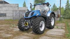 New Holland T7-series with FL console para Farming Simulator 2017