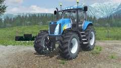 New Holland T8020 realistic exhaust para Farming Simulator 2013