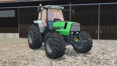 Deutz-Fahr AgroStar 6.61 new tires para Farming Simulator 2015