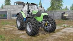 Deutz-Fahr Serie 7 TTV custom exhaust effect para Farming Simulator 2017