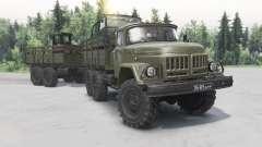 Zil-131 1981 para Spin Tires