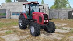 MTZ-2022.3 console carregador frontal para Farming Simulator 2017