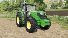 John Deere 6M-series changes wheels para Farming Simulator 2017