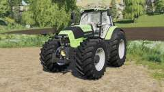 Deutz-Fahr Serie 7 TTV Agrotron with new tire para Farming Simulator 2017