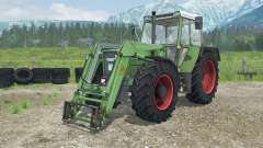 Fendt Favorit 611 LSA Turbomatik E front loader para Farming Simulator 2013