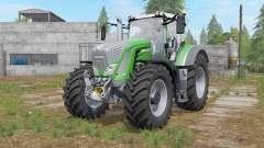 Fendt 900 Vario chrome front grill para Farming Simulator 2017