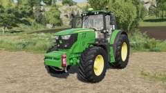 John Deere 6M-series fixed fronthydraulics para Farming Simulator 2017