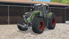 Fendt 933 Vario chalet green para Farming Simulator 2015