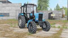 MTZ-82.1 Bielorrússia com três opções para Farming Simulator 2017