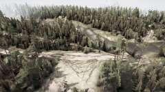 Rússia. Ural. 110 quilômetros para MudRunner