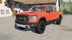 Ram 1500 resized the truck para Farming Simulator 2017