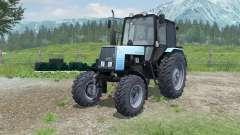 MTZ-Bielorrússia 1025 com PKU-0.8 para Farming Simulator 2013