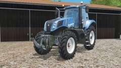 New Holland T8.320 narrow wheels para Farming Simulator 2015