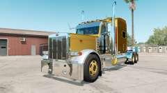 Peterbilt 379X satin sheen gold para American Truck Simulator